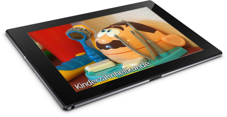 tablet_kinderzahnheilkunde